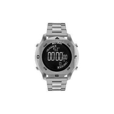 59647461817 Relógio Masculino Mormaii PRO Digital MO11273C 1P - Prata