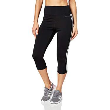 Calça Legging 3/4 Adidas D2M 3S