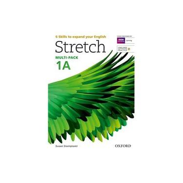 Stretch 1A - Student's Book and Workbook Multi-Pack - Capa Comum - 9780194603287