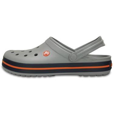 Sandália Crocs Crocband Cinza  masculino
