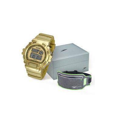 3a514516aa2 Kit Relógio Feminino Speedo Digital 65083L0EVNP3K5 com Pochete Nylon