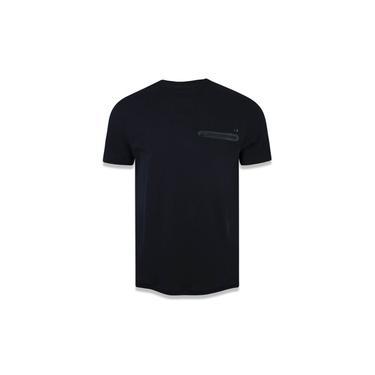 Camiseta Branded Preto Kaki New Era