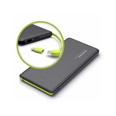 Bateria Portátil Pineng Carregador Power Bank 10000mah Pn-951 Slim