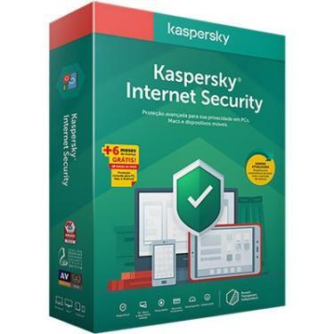 Kaspersky Internet Security 1 dispositivo 18 Meses PT 1 UN