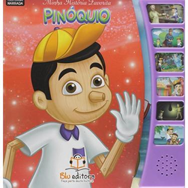 Minha História Favorita - Pinóquio - Editora Blu - 9788581022543