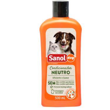 Condicionador Sanol Dog Neutro - 500ml