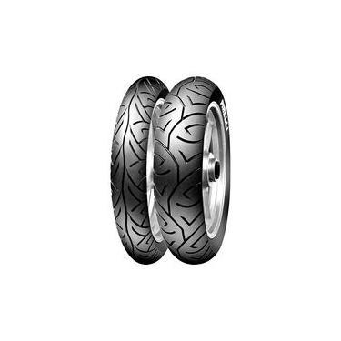 Jogo De 2 Pneus De Moto Pirelli Sport Demon 110/70-17 54h + 140/70-17 66h Tl