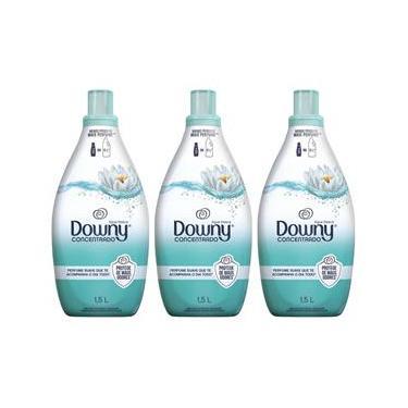 Amaciante Downy Concentrado Água Fresca 1,5L – 03 Unidades