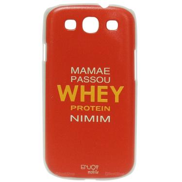 Capinha Rígida Whey Protein Para Smartphone Galaxy S3 - Enjoy Mobile