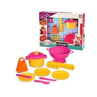 Imagem de Jogo De Cozinha Infantil Kitchen Jantarzinho - Nig Brinquedos