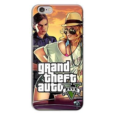 Capa para iPhone 4 e 4S - GTA V | Modelo 4