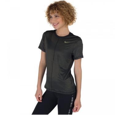 Camiseta Nike Dry Miler SS Shine - Feminina Nike Feminino