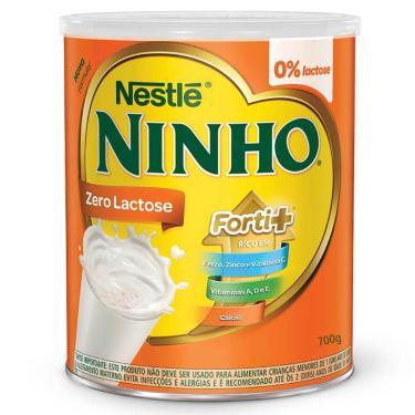 Imagem de Composto Lácteo Nestlé Ninho Forti+ Zero Lactose com 700g 700g