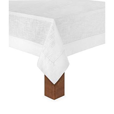Imagem de Toalha de Mesa 8 Lug 1,60x2,70 Coloratta Branco Copa&Cia