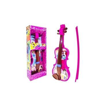Imagem de Brinquedo Musical Violino Princesas da Disney Toyng 41271