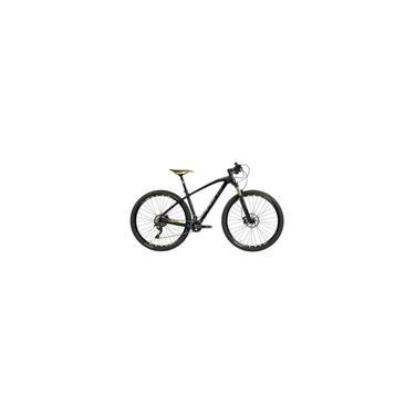 Imagem de Bicicleta Caloi Elite Carbon Sport Aro 29 2019 P + Capacete + Pisca + Farol