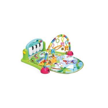 Imagem de Tapete De Atividades Infantil Musical Toca Piano Verde