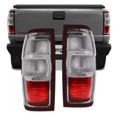 Par Lanterna Traseira Ford Ranger 2009 2010 2011 2012 Bicolor