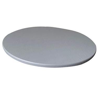 Imagem de Fityle Toalha de mesa redonda antiderrapante impermeável, capa de mesa de plástico, protetor de mesa, toalha de mesa redonda, toalhas de mesa de páscoa, toalha de mesa para área externa, toalha de mesa de plástico redonda