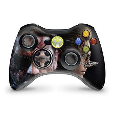 Skin Adesivo Para Xbox 360 Controle - Metal Gear Solid V