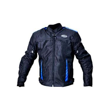 Jaqueta Helt Airmash Moto Verão Azul C/Proteções Tam GG