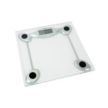 Balança Corporal Digital G-Tech Glass 200  Transparente