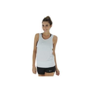 4c4553543e Camiseta Regata Nike Dry Tank Loose RBK - Feminina - CINZA CLARO Nike