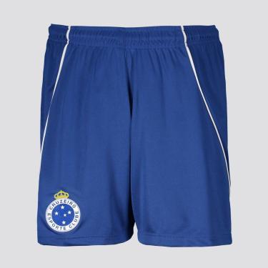 Calção Cruzeiro Caps Juvenil - 10 ANOS