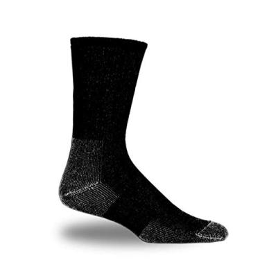 Thorlos TX-11 Meias de tênis (nível 3), Preto, 11- Medium (shoe size-ladies 61/2-10; men's 51/2-8