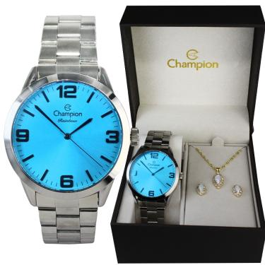 defa54488c2 Relógio de Pulso Feminino Champion Cia Dos Relógios