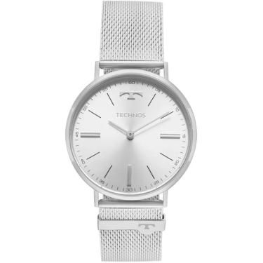 90f4a0b35da Relógio Masculino Technos Slim 2025LTL 1K - Prata