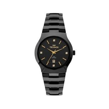 1dd2d1658e1e3 Relógio de Pulso Feminino Technos Cerâmica   Joalheria   Comparar ...
