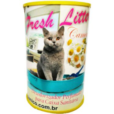 Desodorizador Easy Pet & House Fresh Litter Camomila - 150 g