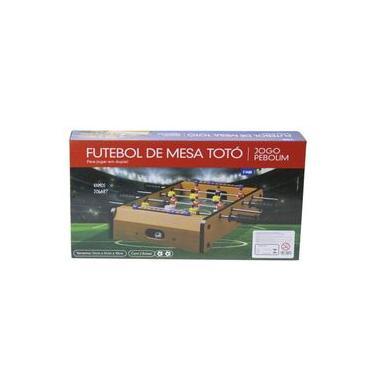 Jogo de Futebol de Mesa Totó Pebolim 51 Cm - 143432