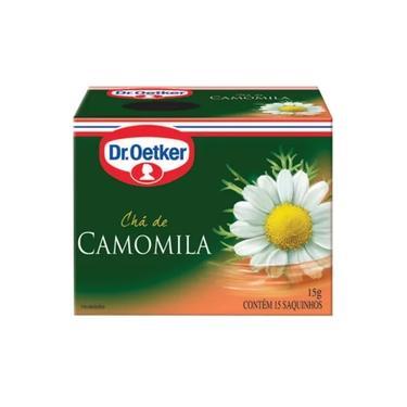 12 Unidades de Chá de Camomila 15 sachês - Dr. Oetker