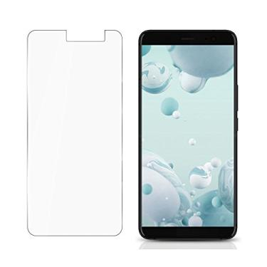 [2 unidades] Película protetora de tela para HTC U11 Plus (U11+) para HTC U11 Plus (U11+) de vidro temperado, proteção de tela transparente HD antiarranhões para HTC U11 Plus de 6,0 polegadas (U11+)