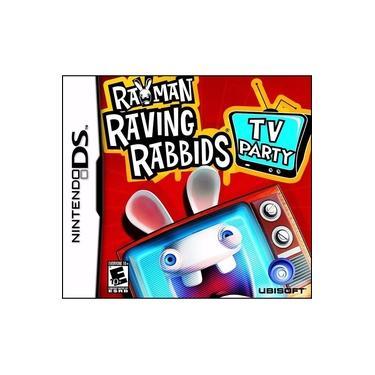 Rayman Raving Rabbids Tv Party para Nintendo DS Jogos para a Família Mídia Física