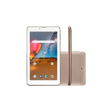 Tablet Nb306 M7 3G Plus 16Gb Dourado Multilaser