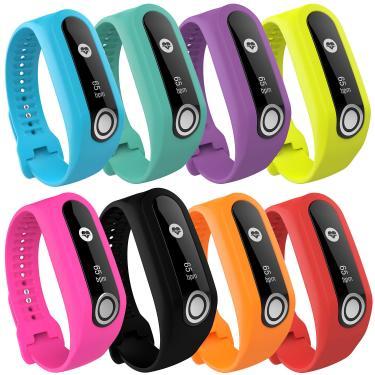 Bakeey Colorful Silicone Assista Strap Relógio Inteligente Banda para TomTom Touch Smart Watch Banggood