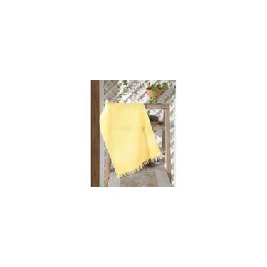 Imagem de °TOALHA lavabo felpudo p/bordar capri ii liso amarela