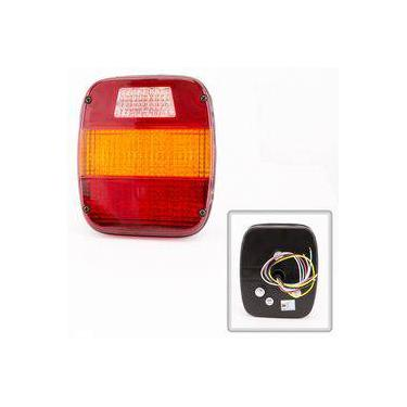 Lanterna Traseira 24 Leds Ford Volkswagen Caminhões 1989 a 2011