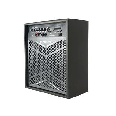 Caixa de Som Multiuso Oneal Ocm4010b Pt Com Bateria