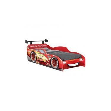 4e4f0b3950 Cama Infantil Carros Disney Star com Aerofólio 7A Pura Magia -