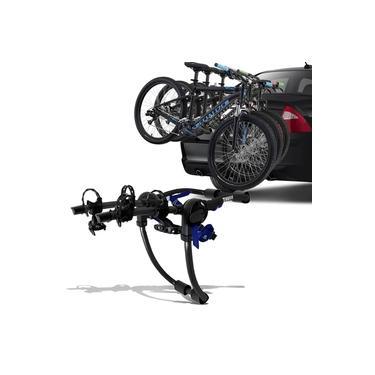 Suporte Transbike 3 Bicicletas Porta Malas Thule Passage 911XT Aço Carbono Preto 43KG Universal