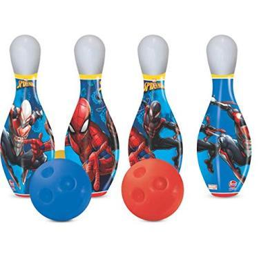 Imagem de Boliche Infantil Spiderman Ec, Marvel, Lider Brinquedos