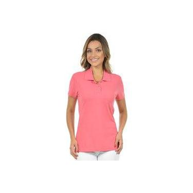 3614e49b15 Camisa Polo Piquet Feminina Fenomenal