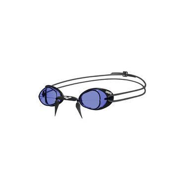 Óculos De Natação Unissex Swedix Arena - Preto + Azul