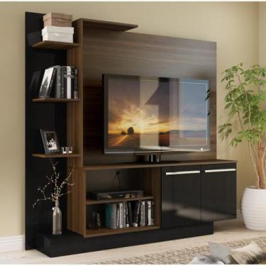Estante Home Theater para TV até 55 Pol. Denver Multimóveis  Duna Acet
