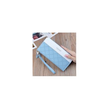 New Clutch Bag Mulheres Carteira Caixa Mulheres Long Zipper Tassel Carteira de telefone