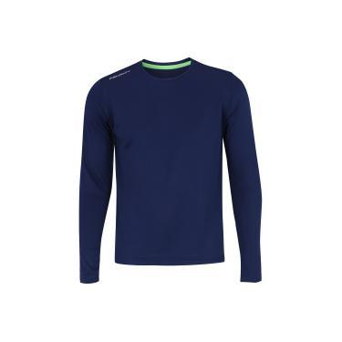 Camisa Manga Longa com Proteção Solar UV Penalty Matís VII - Masculina -  AZUL ESCURO Penalty 953814094d31a